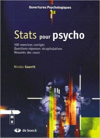 stats pour psycho gauvrit